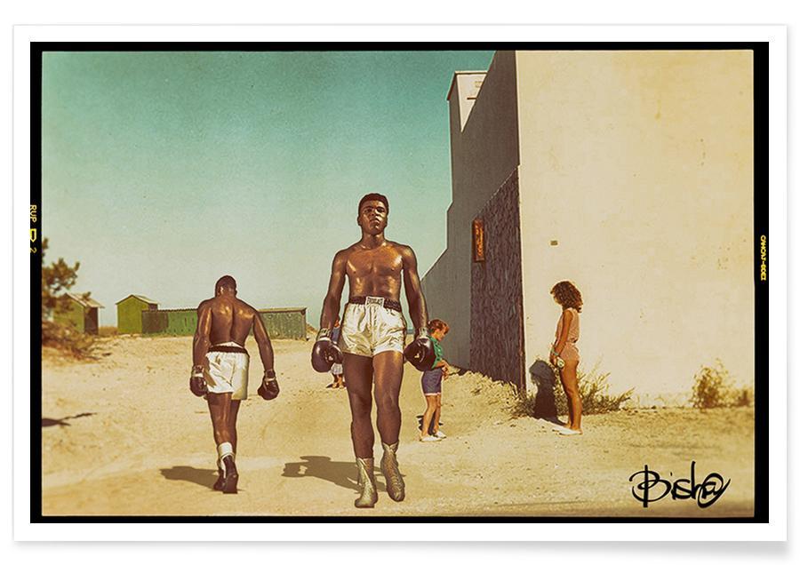 Muhammad Ali, Italian Landscape Poster