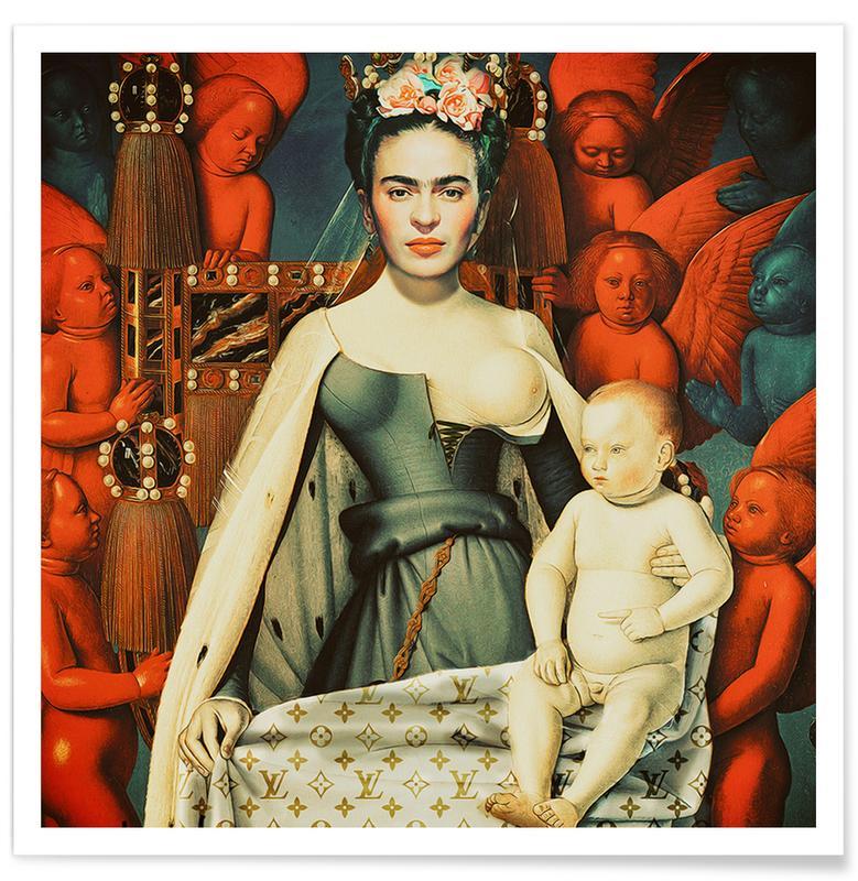 Frida Kahlo, Pop Frida -Poster