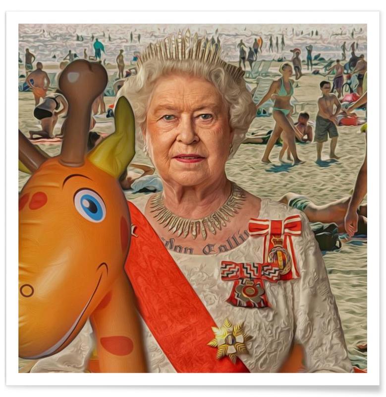 Political Figures, Pop Art, London Calling Poster