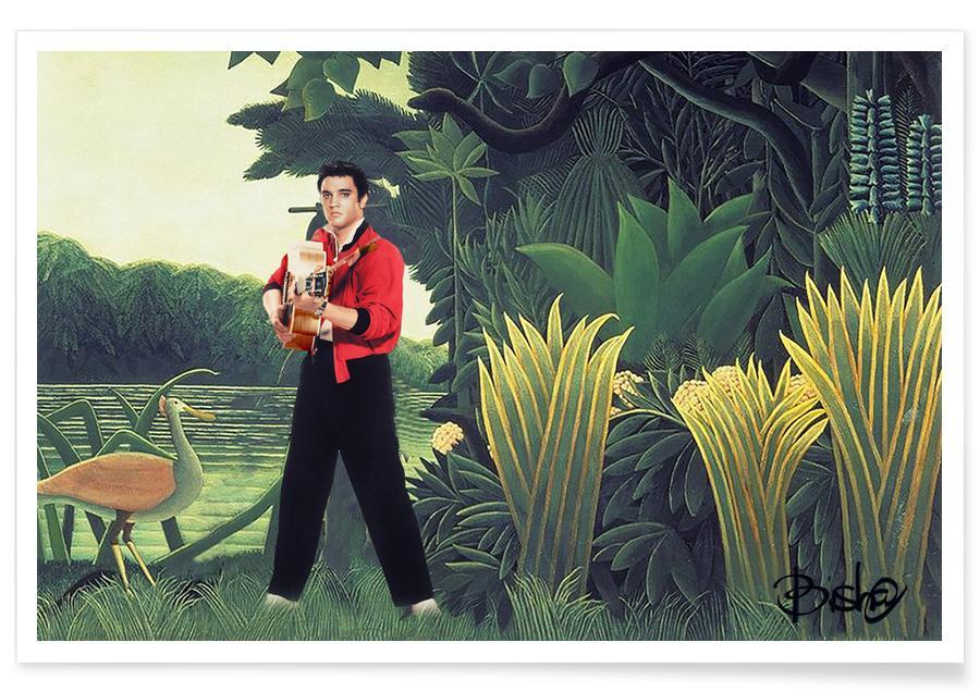 , An Elvis Rousseau Jungle Poster
