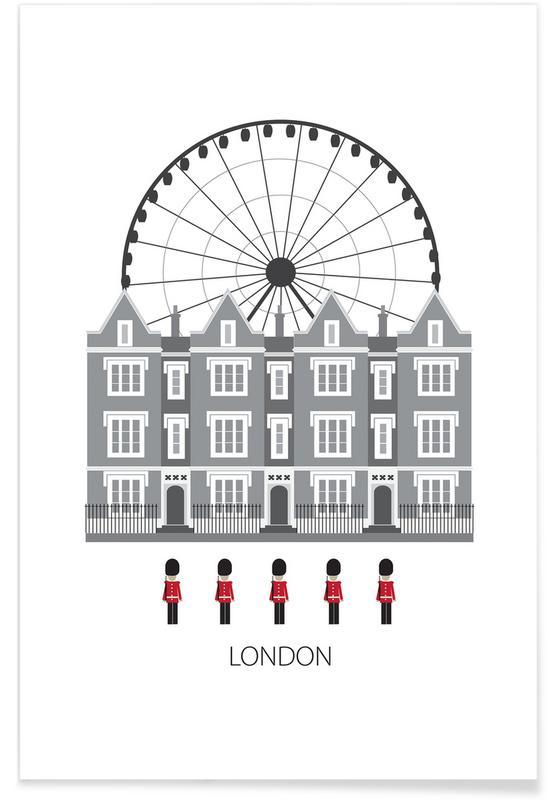 London Minimalist Poster