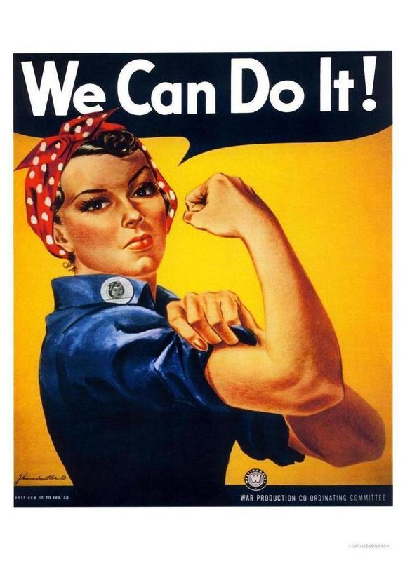 We Can Do It toile