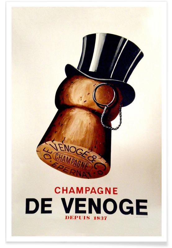 Champagne Cork affiche