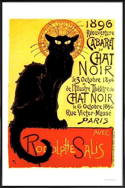 Chat Noir Poster i standardram