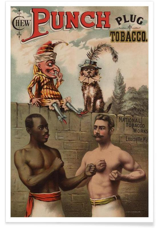 Punch And Chew, 1886 -Poster