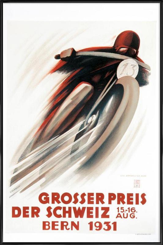 Grosser Preis Framed Poster