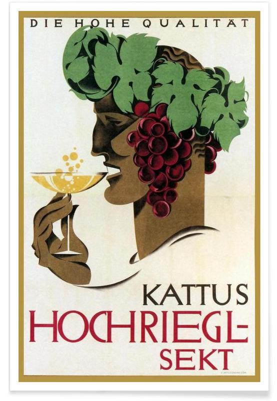 Hochriegel Sekt -Poster