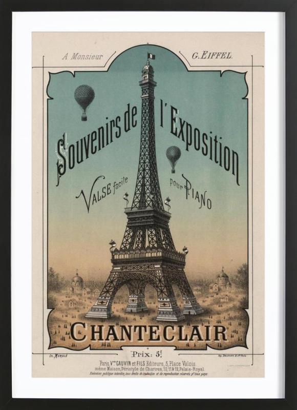 Eiffel Exposition Framed Print