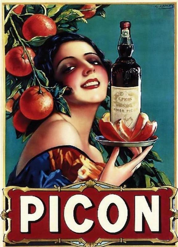 Picon Liquor -Leinwandbild