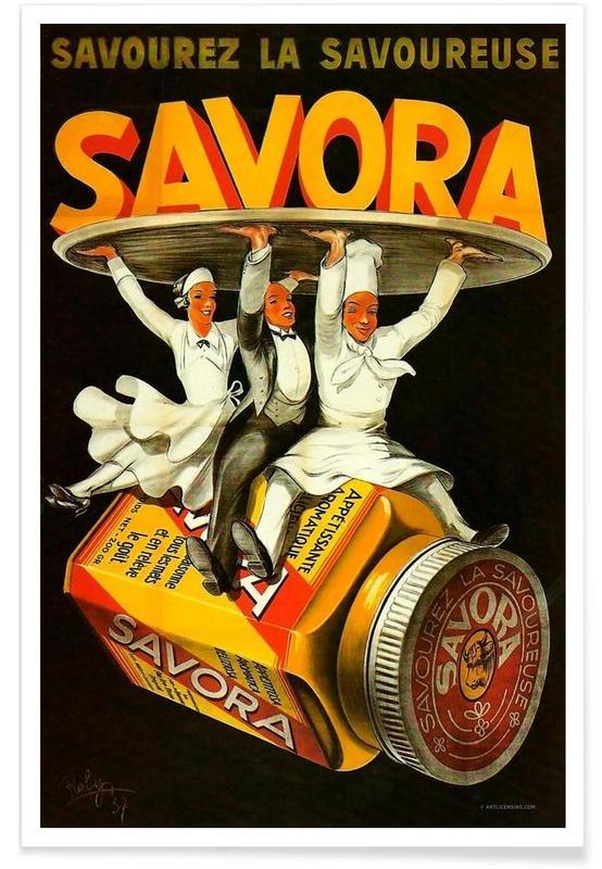 Savora Waiters -Poster