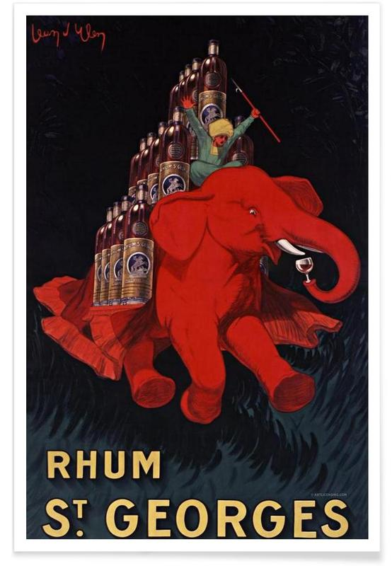 Rhum St Georges poster