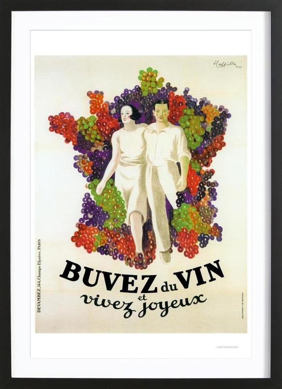 Cappiello Buvez Framed Print