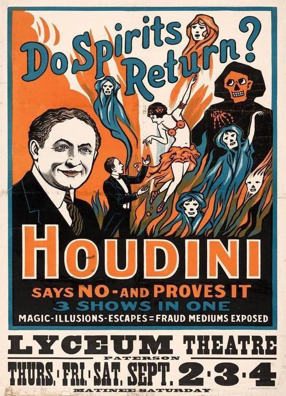 Houdini - Do Spirits Return? -Leinwandbild