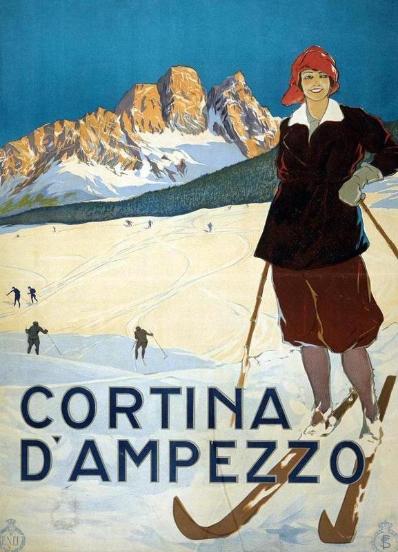 Cortina d'Ampezzo Canvas Print