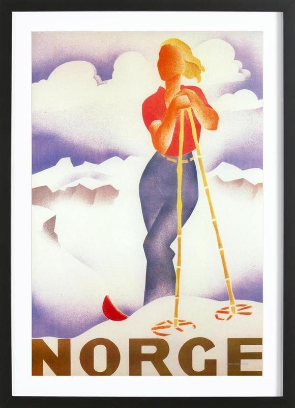 Norge Framed Print