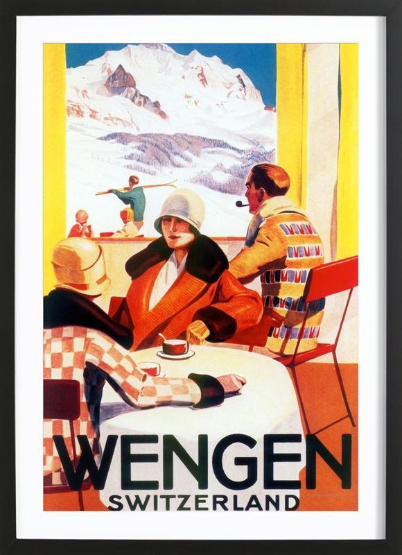 Wengen Framed Print