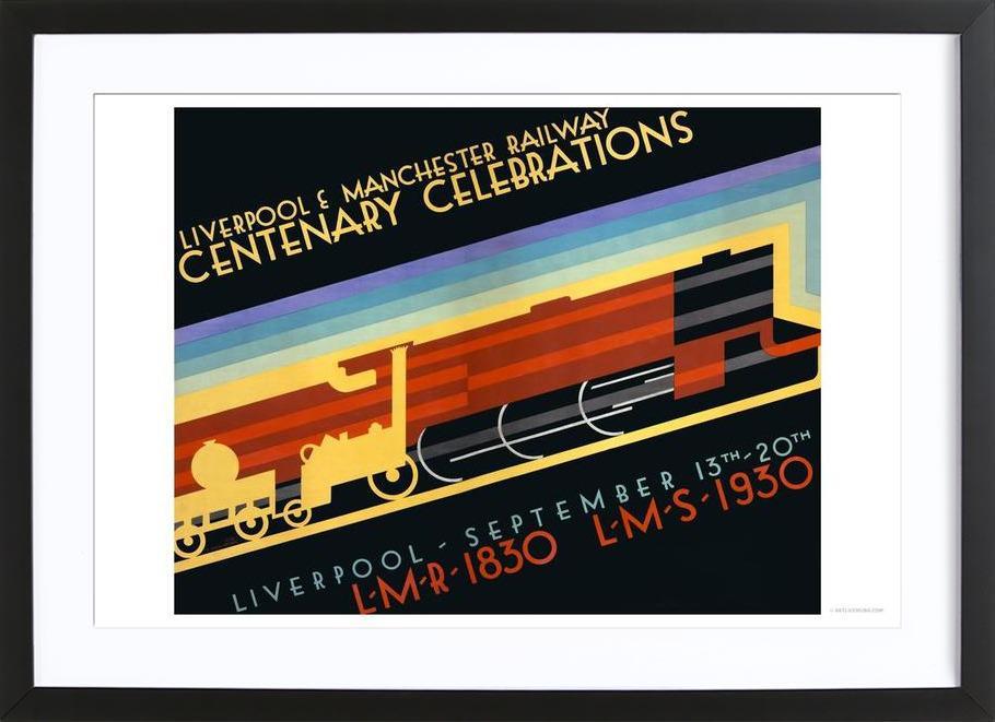 Liverpool & Manchester Railway Framed Print