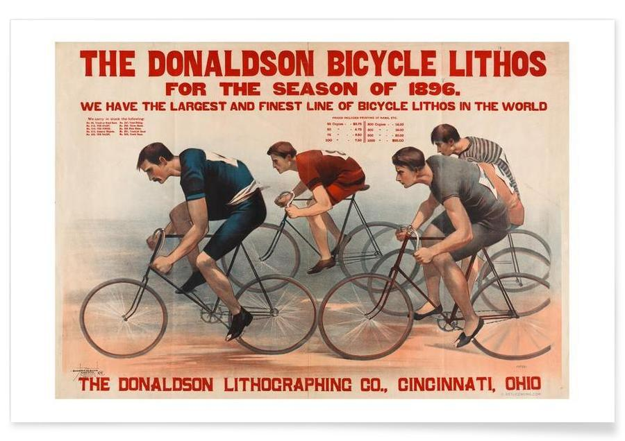 Donaldson Bicycle Poster
