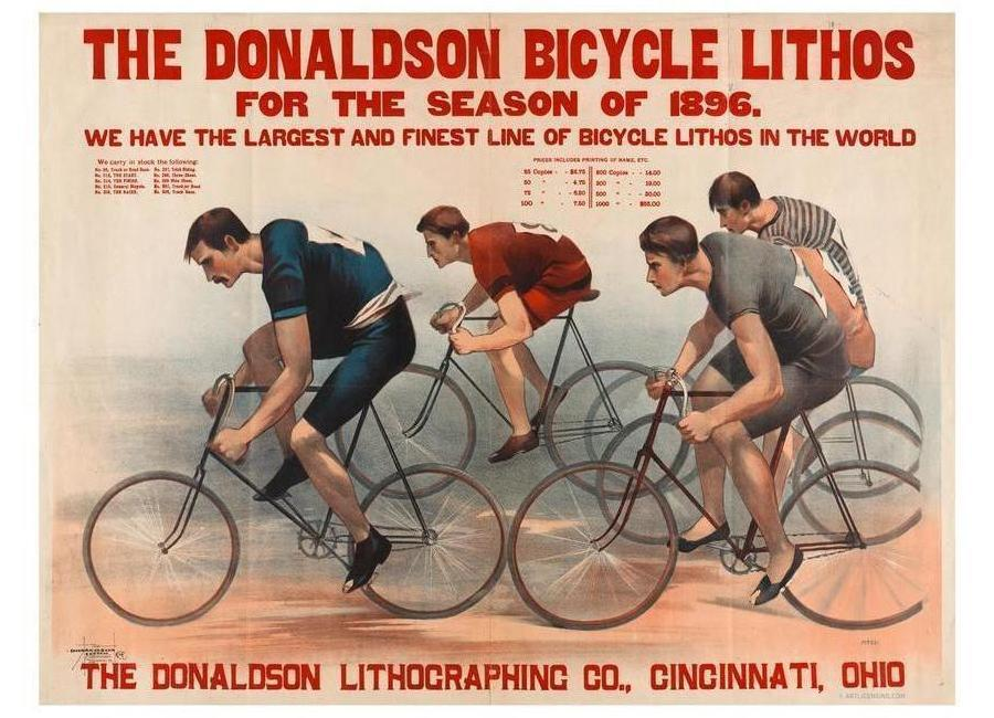 Donaldson Bicycle Canvas Print