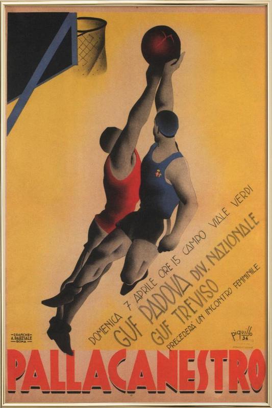 Piquillo -Poster im Alurahmen