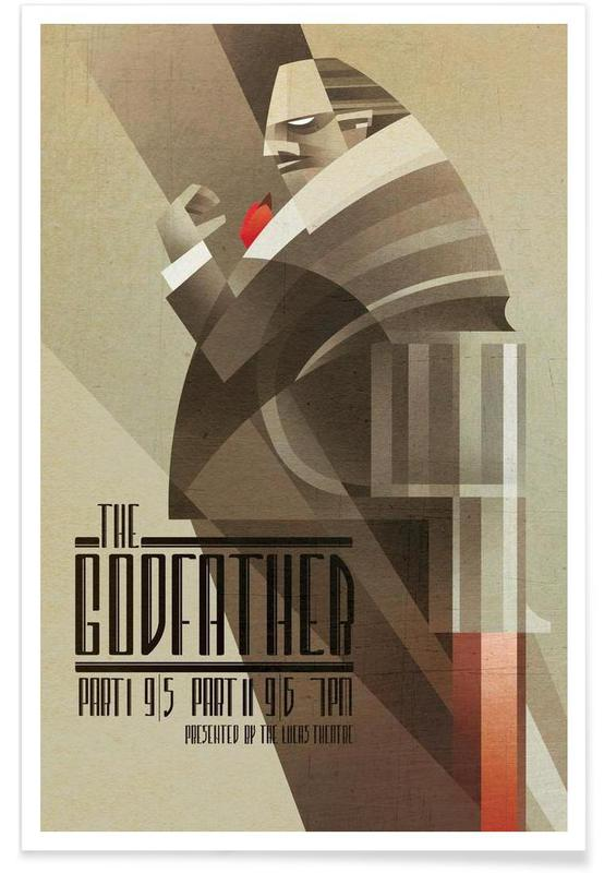 Films, The Godfather poster