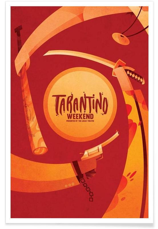 Tarantino Weekend -Poster