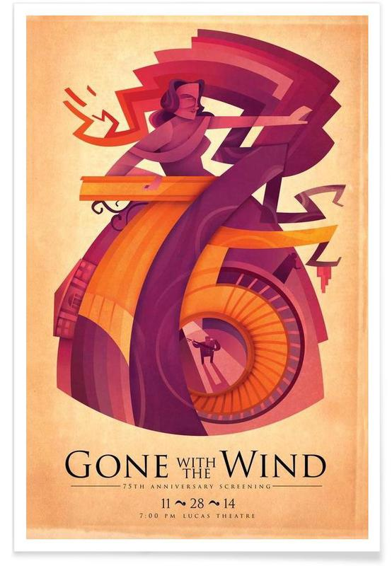 Gone With the Wind: 75th Poster