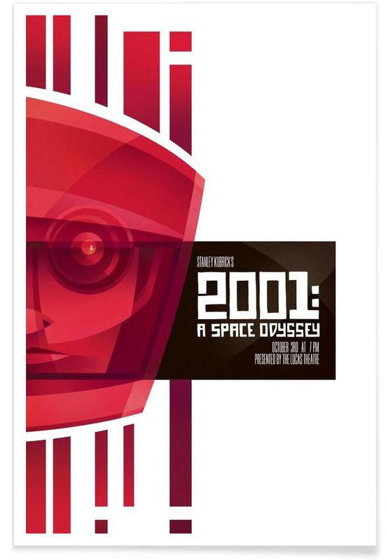 Films, 2001: A Space Odyssey poster