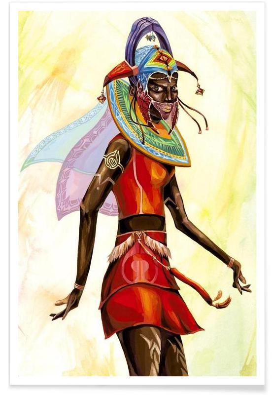 , Queen of Africa -Poster