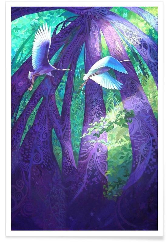 Kraniche, Last Paradise -Poster