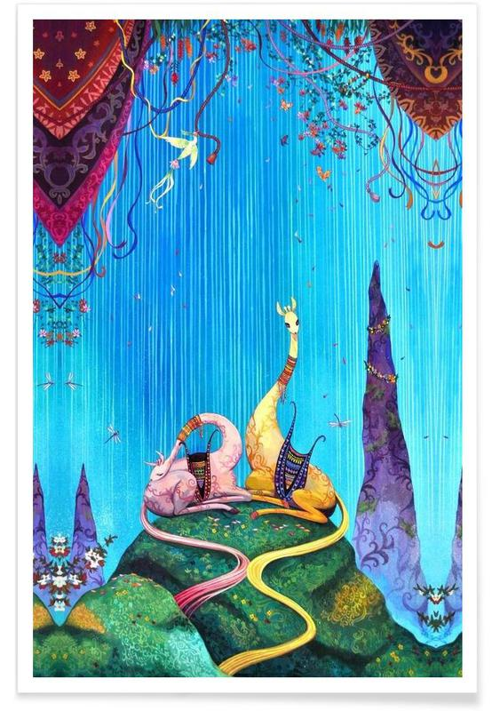 Dromerig, Summer Waterfall poster