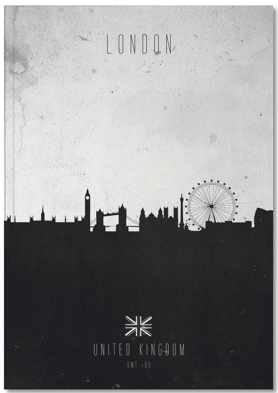 London Contemporary Cityscape Notebook
