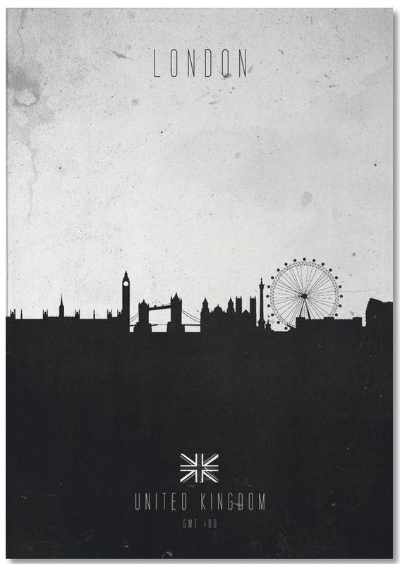 London Contemporary Cityscape Notepad