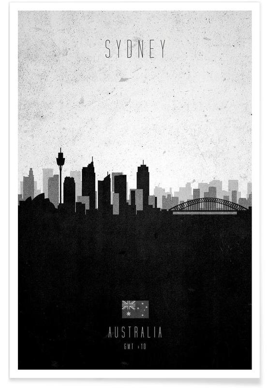 Sydney Contemporary Cityscape -Poster