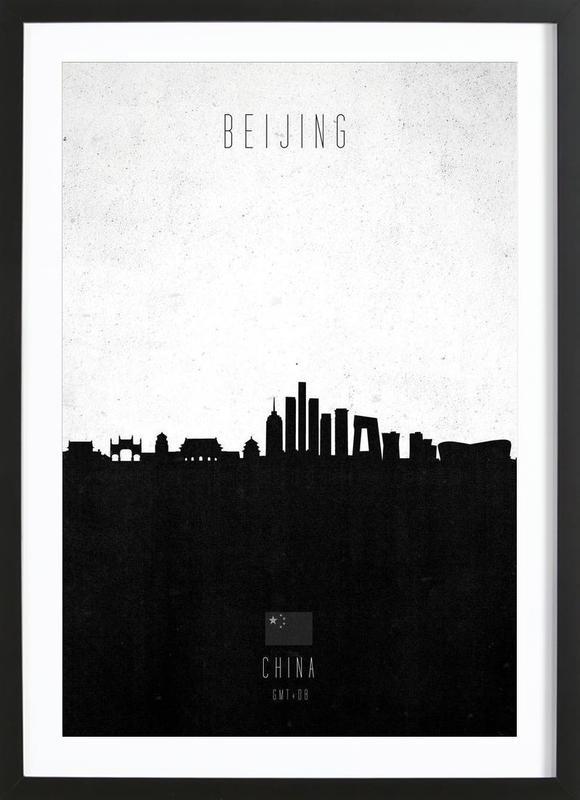 Beijing Contemporary Cityscape ingelijste print
