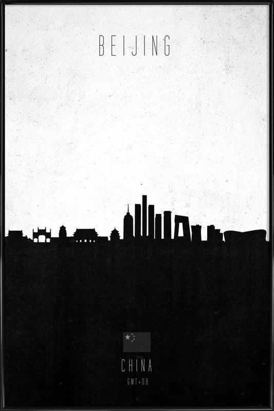 Beijing Contemporary Cityscape affiche encadrée