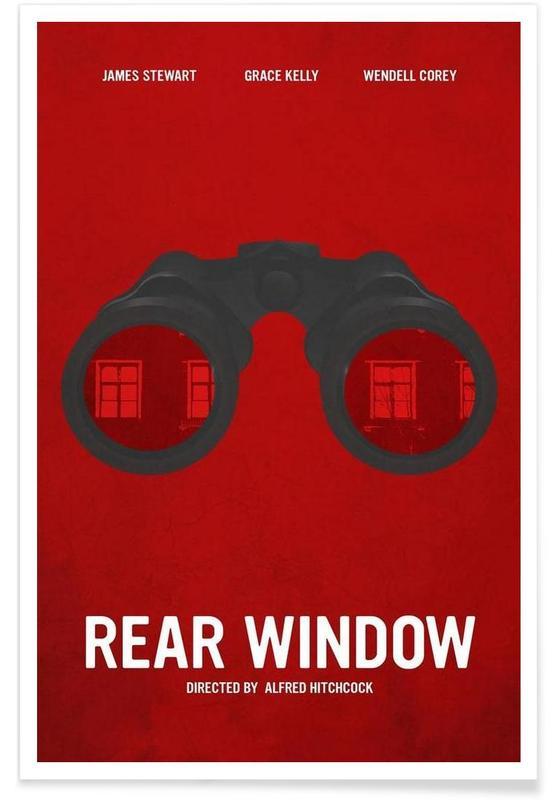 Films, Rear Window affiche