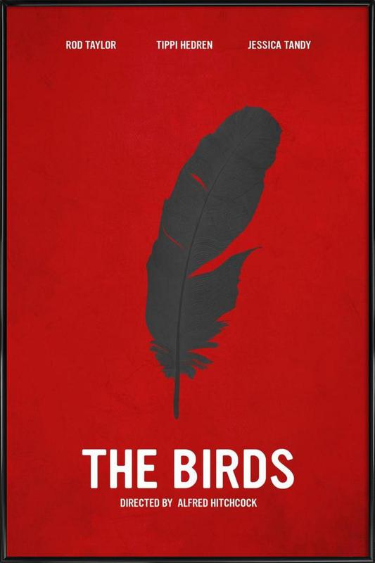 The Birds ingelijste poster