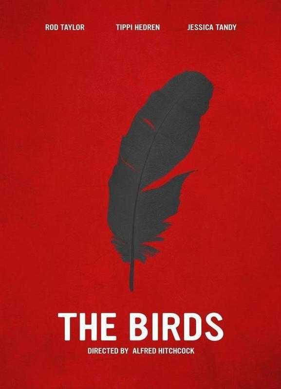 The Birds canvas doek