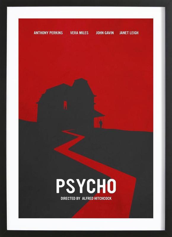 Psycho Framed Print