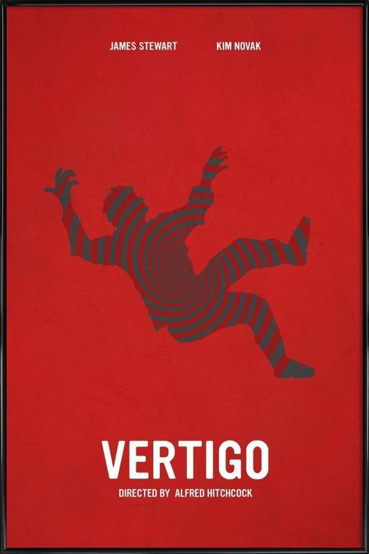 Vertigo -Bild mit Kunststoffrahmen