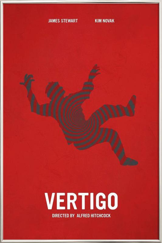 Vertigo Poster in Aluminium Frame