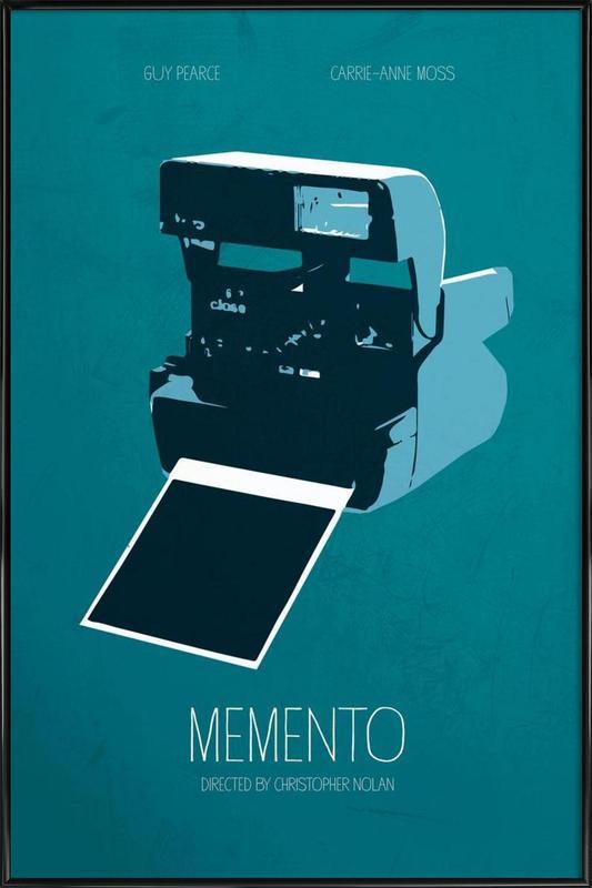 Memento affiche encadrée