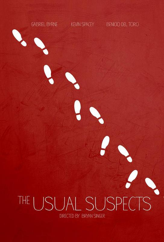 The Usual Suspects alu dibond