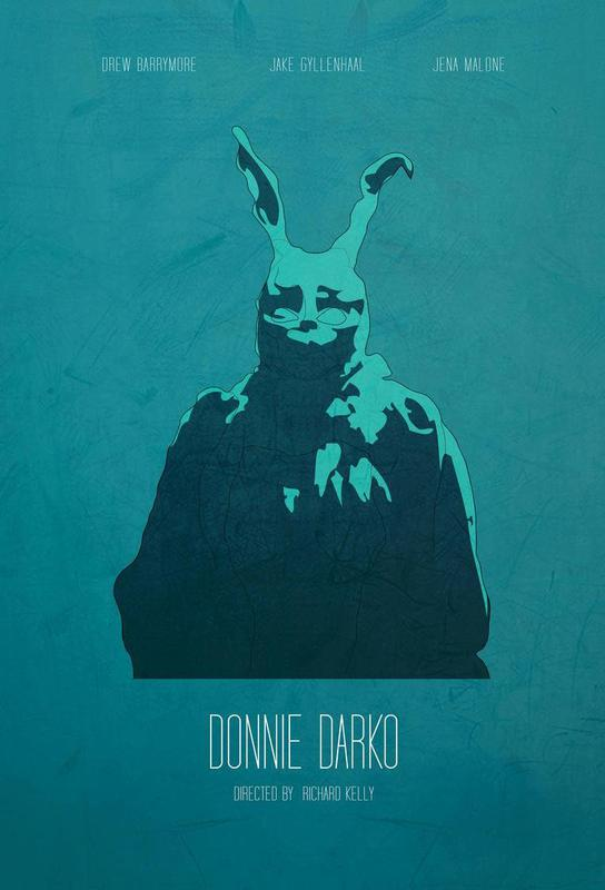 Donnie Darko -Acrylglasbild
