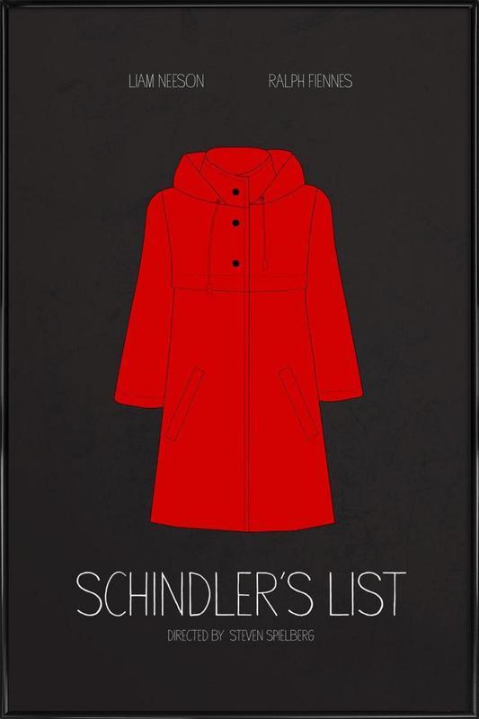 Schindler's List affiche encadrée