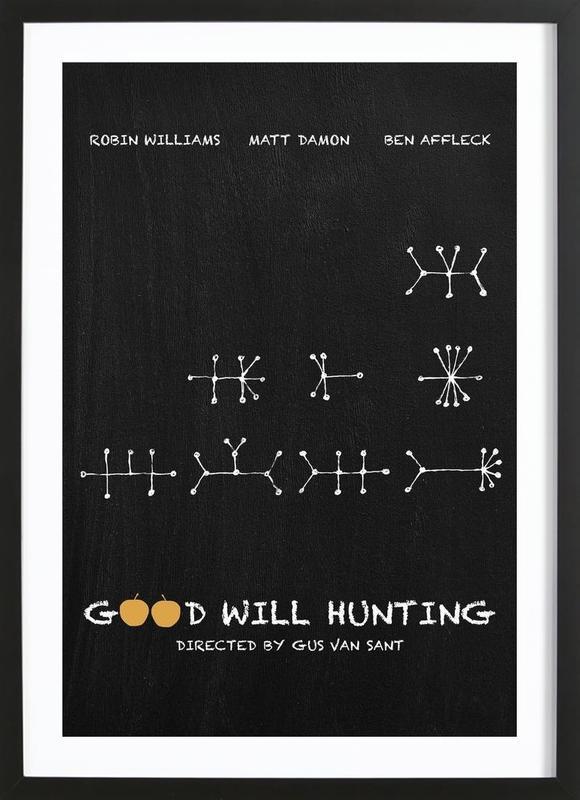Good Will Hunting Framed Print