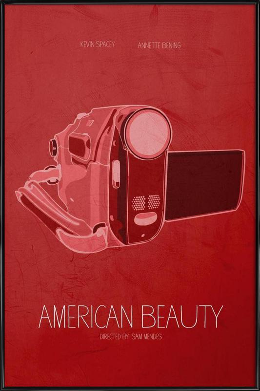 American Beauty -Bild mit Kunststoffrahmen