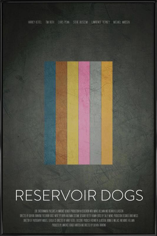 Reservoir Dogs ingelijste poster