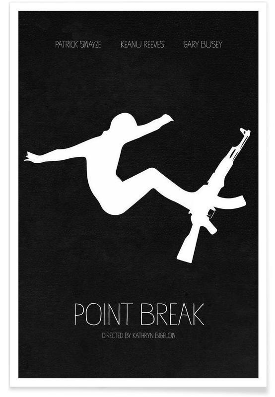 Noir & blanc, Films, Point Break affiche